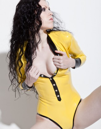 "Damen Latex Body ""Sexytärin"""