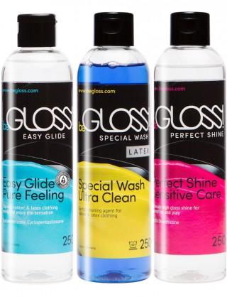 Latex Pflege SET - Perfect SHINE - Easy GLIDE - Special WASH
