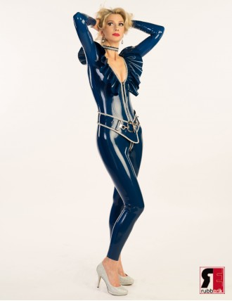 "Damen Latex Catsuit ""Perle"""