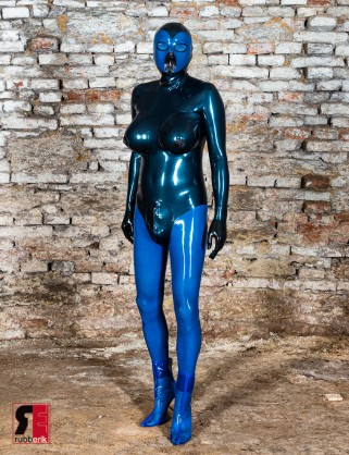Latex Catsuit Doll Anzug in Body-Look