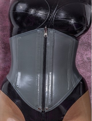 Latex Doppel Korsett