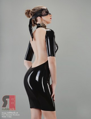 "Damen Latex Kleid ""Conny"""