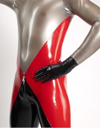 Latex kurze Handschuhe