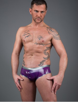Herren Latex Mega Sexy Pants