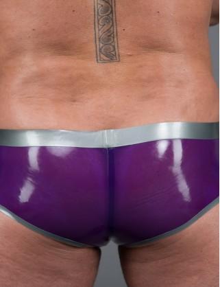 Herren Latex Mega Sexy Hotpants