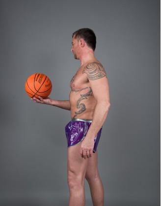 Herren Latex sportliche Shorts