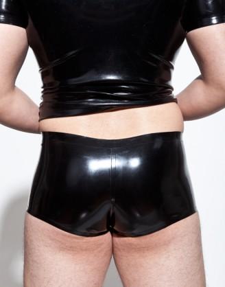 Herren Latex klassische Pants