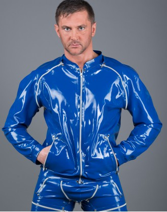 Latex Men's Jacket 1