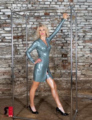 Latex 5 Sterne Kleid Deluxe
