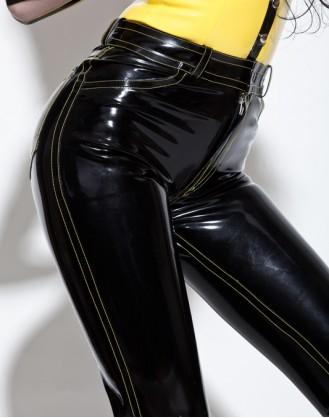 Latex Jeans