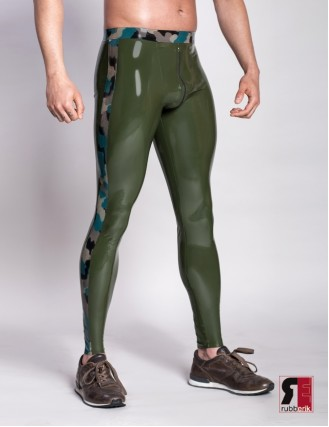 Herren Latex Leggings