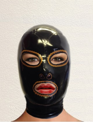 Latex Retro Maske