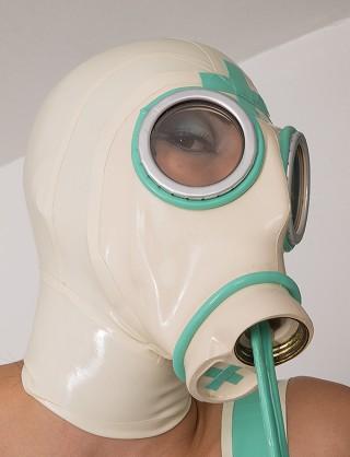 Latex Gasmaske