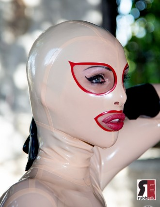 Latex Doll Maske