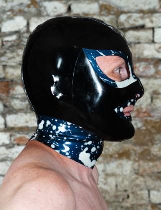 Latex Cumshot Maske 1