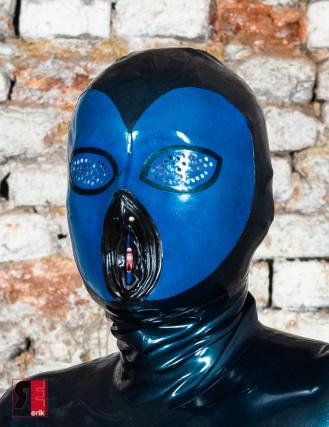 Latex Maske Pussy Face