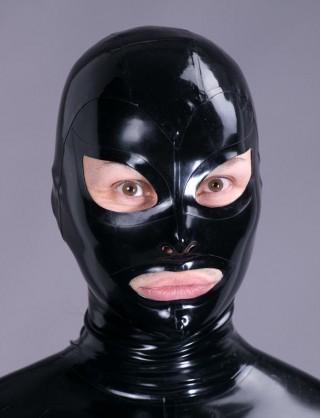 Klassische Latex Maske
