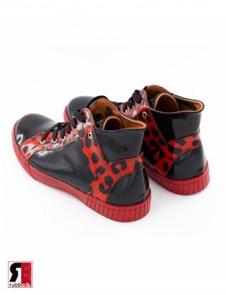 Latex Unisex Kurze Boots